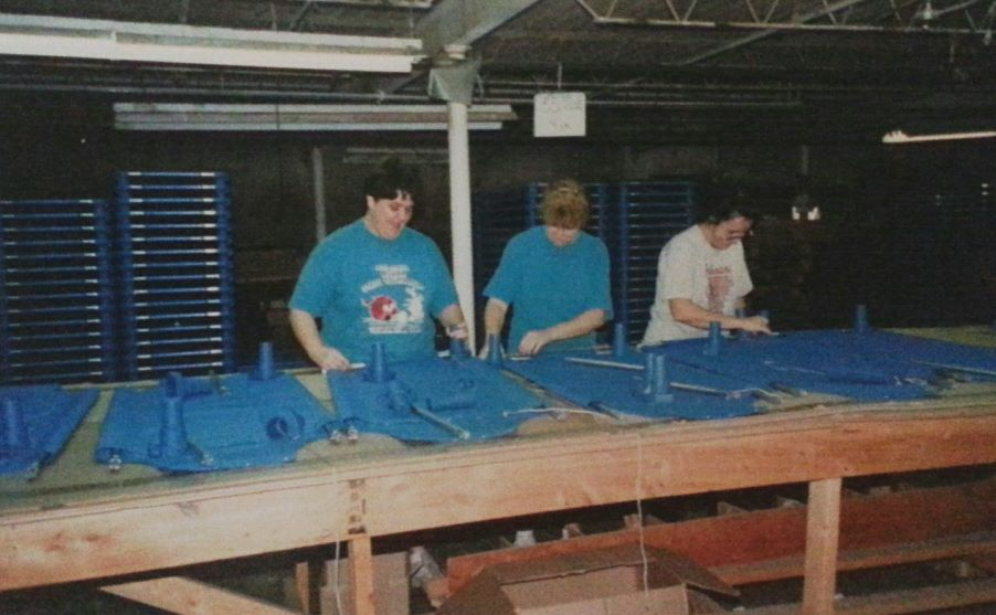 Building the same style cots in 1994 for the school market